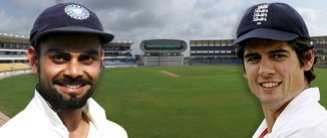 TEST MATCH CRICKET ARRIVES IN THE LAND OF RANJI