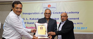 First ever Night Cricket Academy in Saurashtra is inaugurated in Bhavnagar
