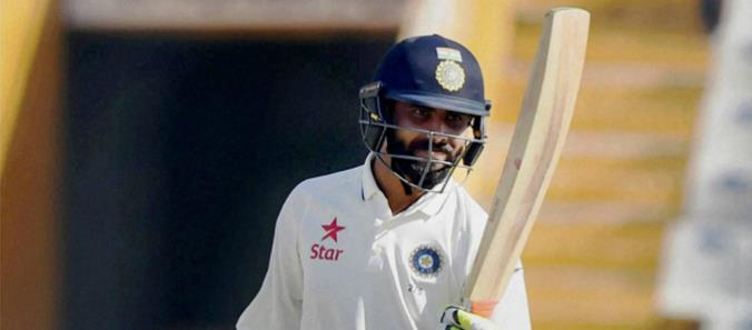 Ravindra Jadeja hits Double ton in Ranji Trophy match between Saurashtra vs Jammu & Kashmir. So far he has scored 3 Triple Centuries (Domestic record) and this is his second Double ton