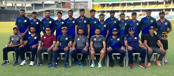 Team Saurashtra - Runners Up of Vijay Hazare Trophy 2017-18