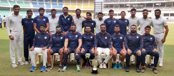 Team Saurashtra becomes Runners Up of Ranji Trophy 2018-19