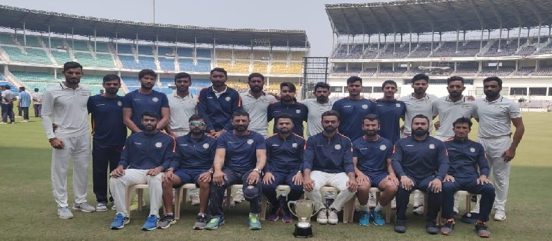 Ranji Trophy 2018-19 Runners Up