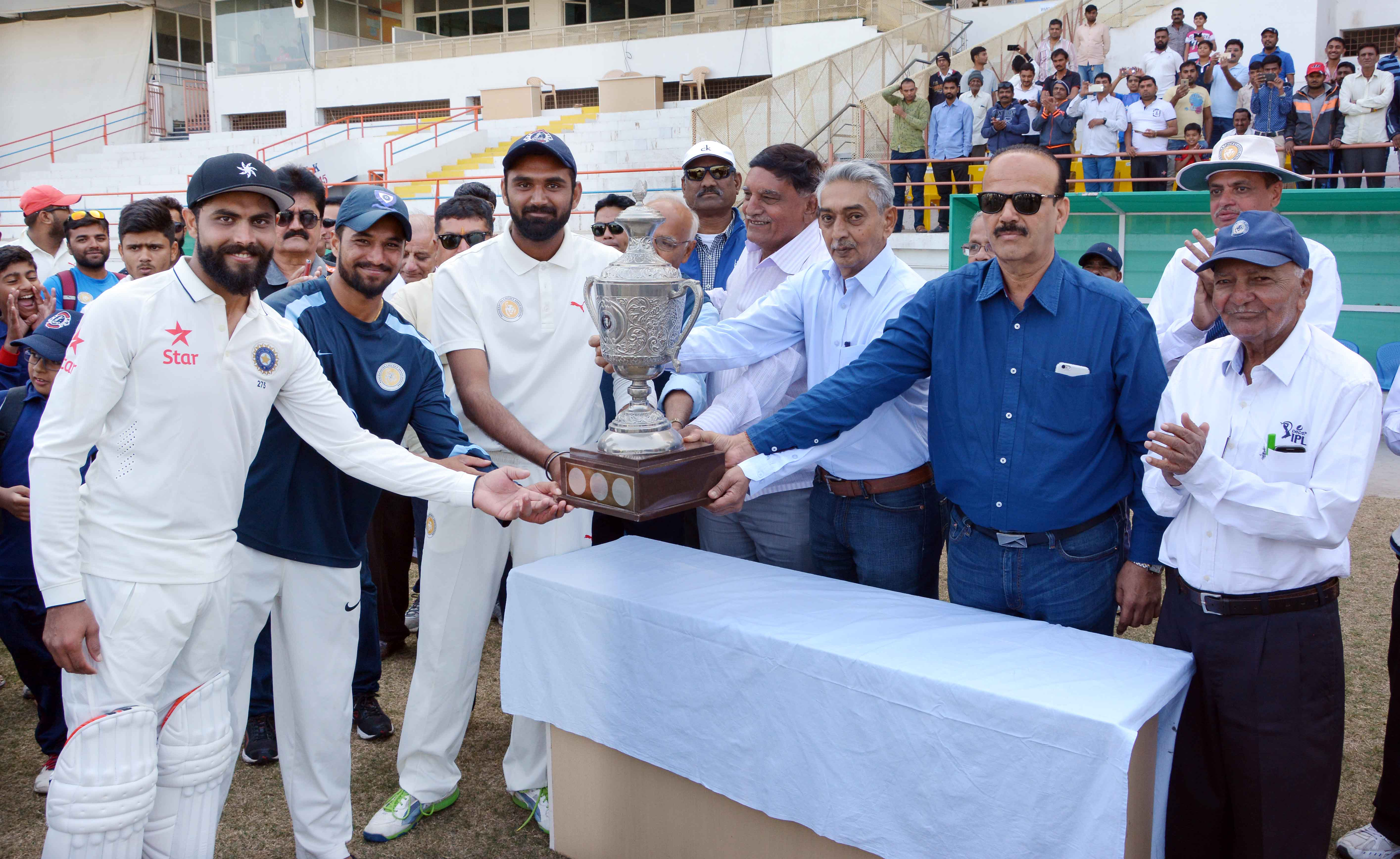Inter District Twenty20 tournament - Final - Jamnagar vs Railways