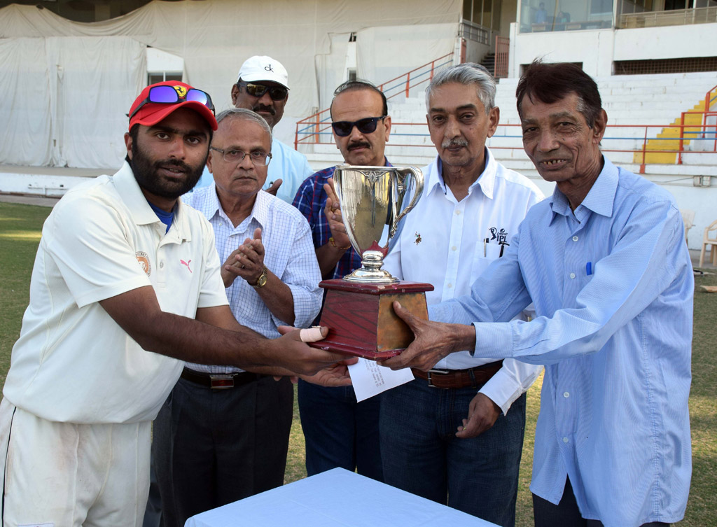 Inter District One Day Match Tajawala Trophy 2016-17 - Final - Bhavnagar District vs Jamnagar
