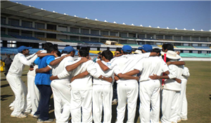 Ranji Trophy Semi-Final Victory Celebration by Saurashtra Team