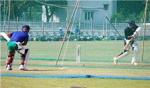 Ranji trophy practice session Saurashtra-Jharkhand