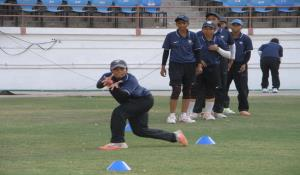 National Acedamy Zonal Under-19 Girls Camp at SCA Stadium-Rajkot