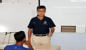 National Cricket Academy Seminar and workshop for Umpires