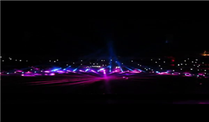 Laser Show at new SCA Stadium